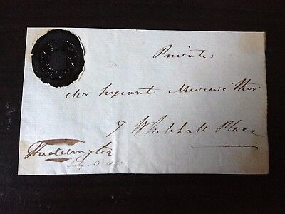 Free Front Dated 183? - To Sergeant Meriwether - Signed Haddington