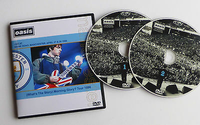 OASIS live at MAINE ROAD, MANCHESTER APRIL 27 & 28 1996   WTSMG? TOUR  2 x DVD