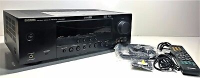 Yamaha Htr-6030 | Natural Sound Av Receiver 500 Watt Output | Includes Remote