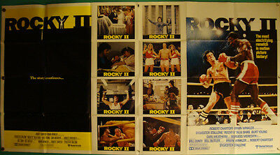 Rocky 2-Sylvester Stallone-Boxe-Stop Int'l-Two models OS (77x41 inch)