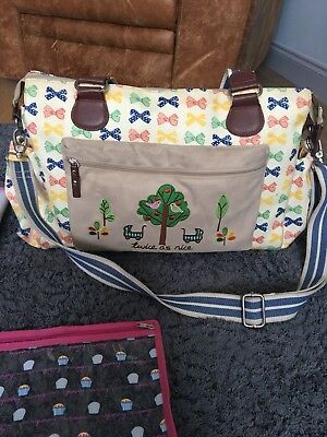 Pink Lining 'Twice As Nice' Changing Bag
