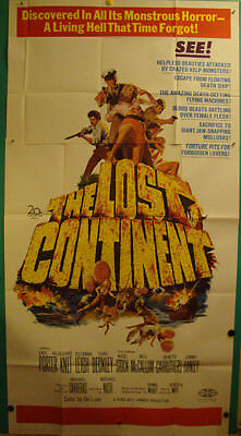 The Lost Continent-Sci fi-Horror-Hammer-M.Carreras-3sh (41x81 inch)
