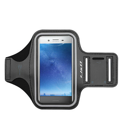 J&D Sony Xperia XZ Premium Sport Armband with Keyholder Slot/Earphone Connection