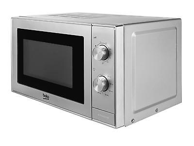 Beko MGC20100S Grill and Microwave, 20 Litre, 700 W, Silver