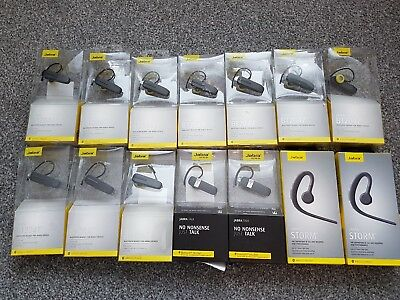 HUGE Joblot x14 Jabra Storm BT2047 Bluetooth Headsets