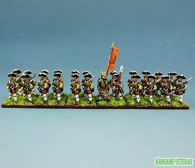 15mm SYW Seven Years War WGS painted British Musketeer Btln BA6