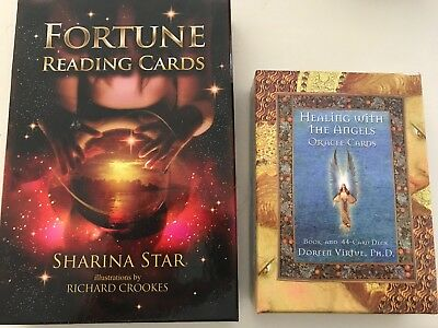 Fortune Reading Cards sharina star And Healing With The Angels Doreen Virtue