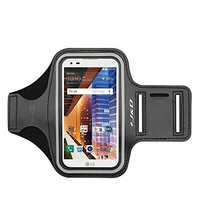 J&D LG Tribute HD Sport Armband with Keyholder Slot/Earphone Connection