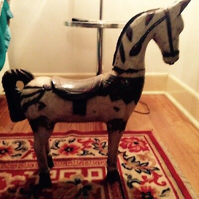 Mexican Wooden Antique Horse
