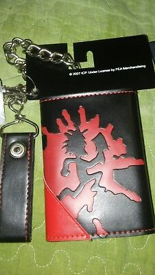 collectors Insane Clown Posse wallets with chains (mint condition)