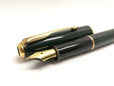 PARKER SONNET ENAMEL LACQUE FOUNTAIN PEN. 18k GOLD NIB gold filled trim France