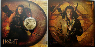 Nz 2013 The Hobbit The Desolation Of Smaug  Coin!!!!!!!