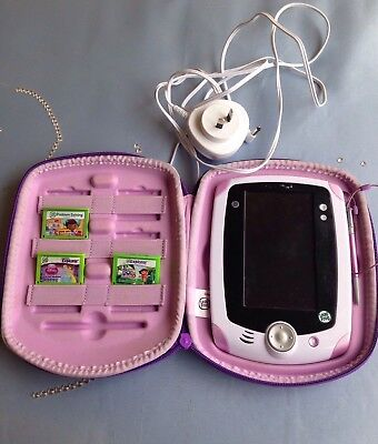 LeapPad (Leap pad) By Leap Frog + Case + 3 Games + Charger