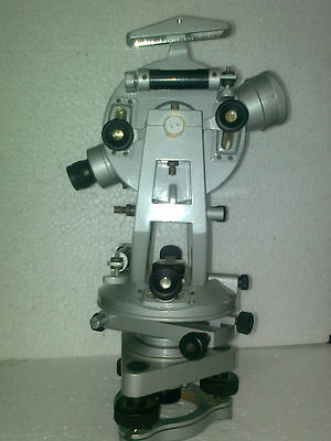 HIGH Vernier Transit Theodolite With Tripod stand, Watts Patte HEALTH CARE EDH
