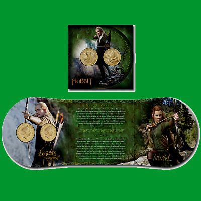 NZ 2013 The Hobbit: The Desolation of Smaug Brilliant Uncirculated Coin Set,!!