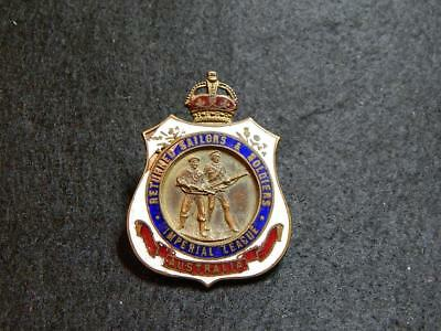 Early Returned Sailors And Soldiers Imperial League Badge