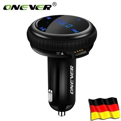 Bluetooth FM Transmitter LCD GPS Auto Tracker MP3 Audio Player USB Ladegerät