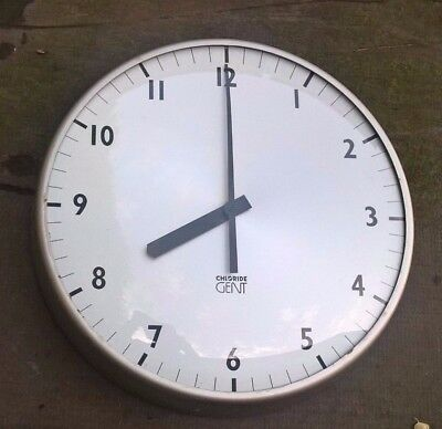 Vintage Gent of Leicester Electric School/ College Wall Clock