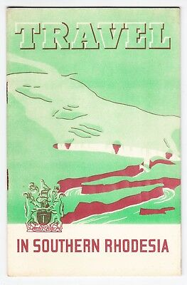 1930's VINTAGE TRAVEL BROCHURE Travel in Southern Rhodesia - very good condition