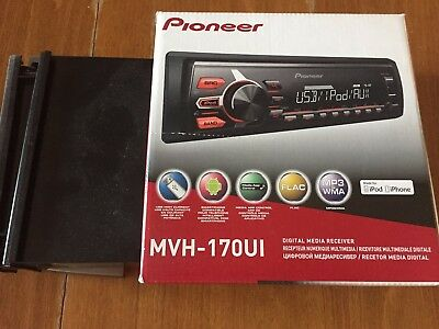 Pioneer MVH-170UI Car Stereo USB Aux Iphone Android