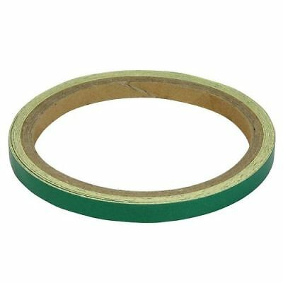BikeTek Motorcycle Wheel Stripes Green 7mm Tape Motorbike Scooter New