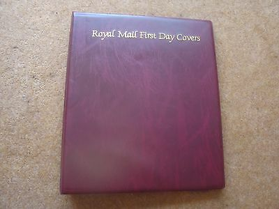 Royal Mail FDC album - excellent condition - rf225