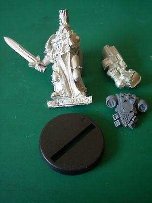 Limited Edition Space Marine Army Veteran Sergean From box set 2004 Rare OOP