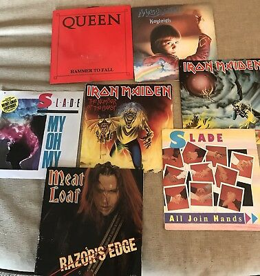 Vinyl Singles Rock Bundle