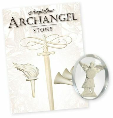 Archangel Michael Worry Blessings Stone Protection Courage Truth Justice