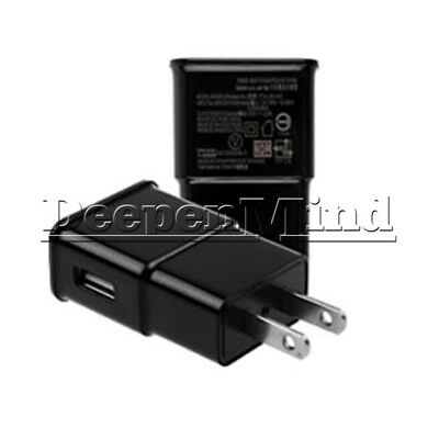 US Plug Black 5V 2A AC 1 Port USB Wall Charger Power Adapter Travel For Phone