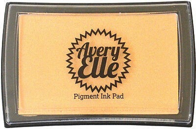 Avery Elle Pigment Ink Pad - Linen - Includes free ink refill