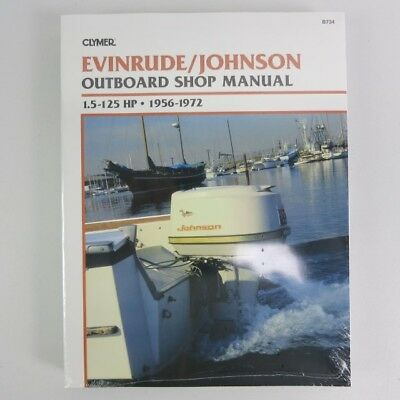 Clymer Evinrude Johnson Manual 1.5-125 PS 1956-1972 B734 Englisch