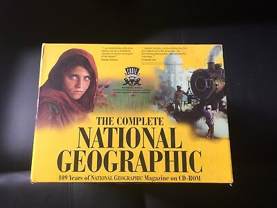 The Complete National Geographic 109 Years of the Magazine on CD-ROM 31 discs