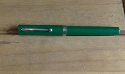 Vintage Sheaffer Cartridge Fountain Pen Green Usa