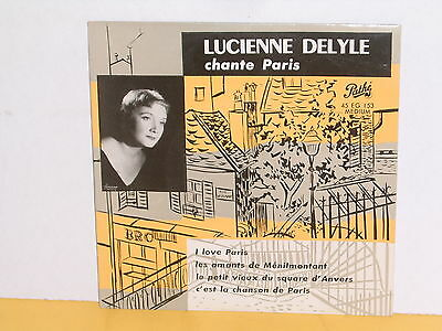 "Single 7"" - Lucienne Delyle - Chante Paris - Ep"