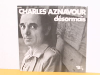 "Single 7"" - Charles Aznavour - Desormais"