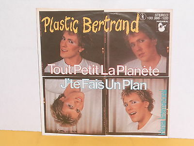 "Single 7"" - Plastic Bertrand - Tout Petit La Planete"