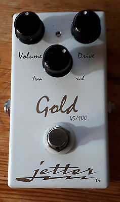 Jetter Gold 45/100 guitar overdrive pedal