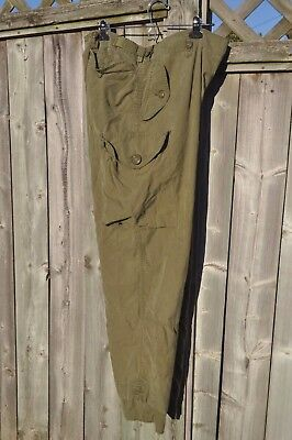 Genuine Canadian Army Mark III Lightweight  Combat Pants Trousers Large Regular