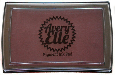 Avery Elle Pigment Ink Pad - Vino - Includes free ink refill