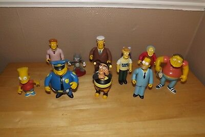 The Simpsons Action Figure Wos   Bundle Loose