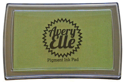 Avery Elle Pigment Ink Pad - Jungle - Includes free ink refill