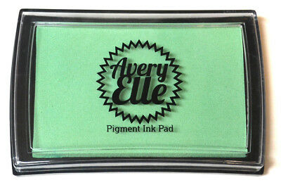 Avery Elle Pigment Ink Pad - Mint To Be - Includes free ink refill
