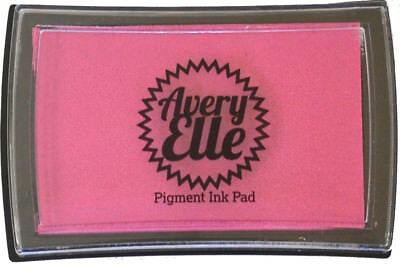 Avery Elle Pigment Ink Pad - Magenta - Includes free ink refill