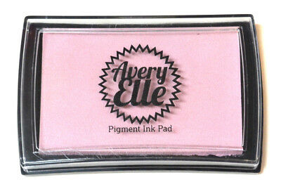 Avery Elle Pigment Ink Pad - Orchid - Includes free ink refill