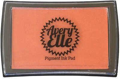 Avery Elle Pigment Ink Pad - Conch Shell - Includes free ink refill