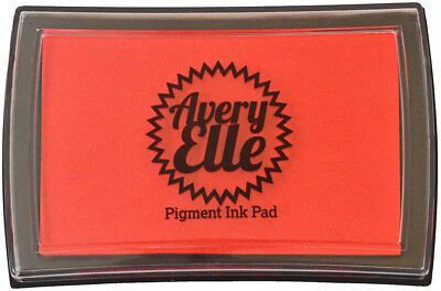 Avery Elle Pigment Ink Pad & Refill - Strawberry