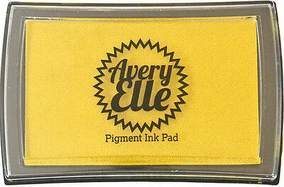 Avery Elle Pigment Ink Pad - Bamboo -  Includes free ink refill