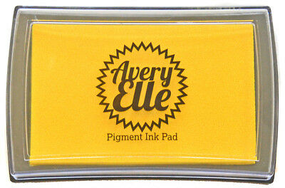 Avery Elle Pigment Ink Pad - Daisy - Includes free ink refill