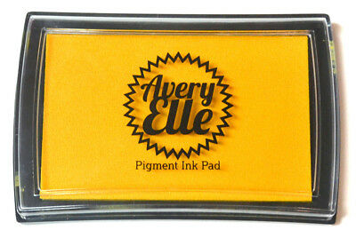Avery Elle Pigment Ink Pad - Mimosa - Includes free ink refill